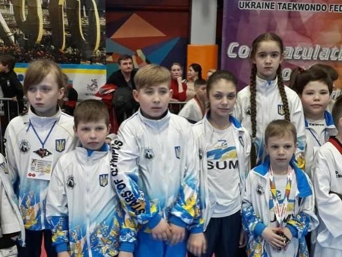 Сумські тхеквондисти відзначилися на міжнародному турнірі, фото-1