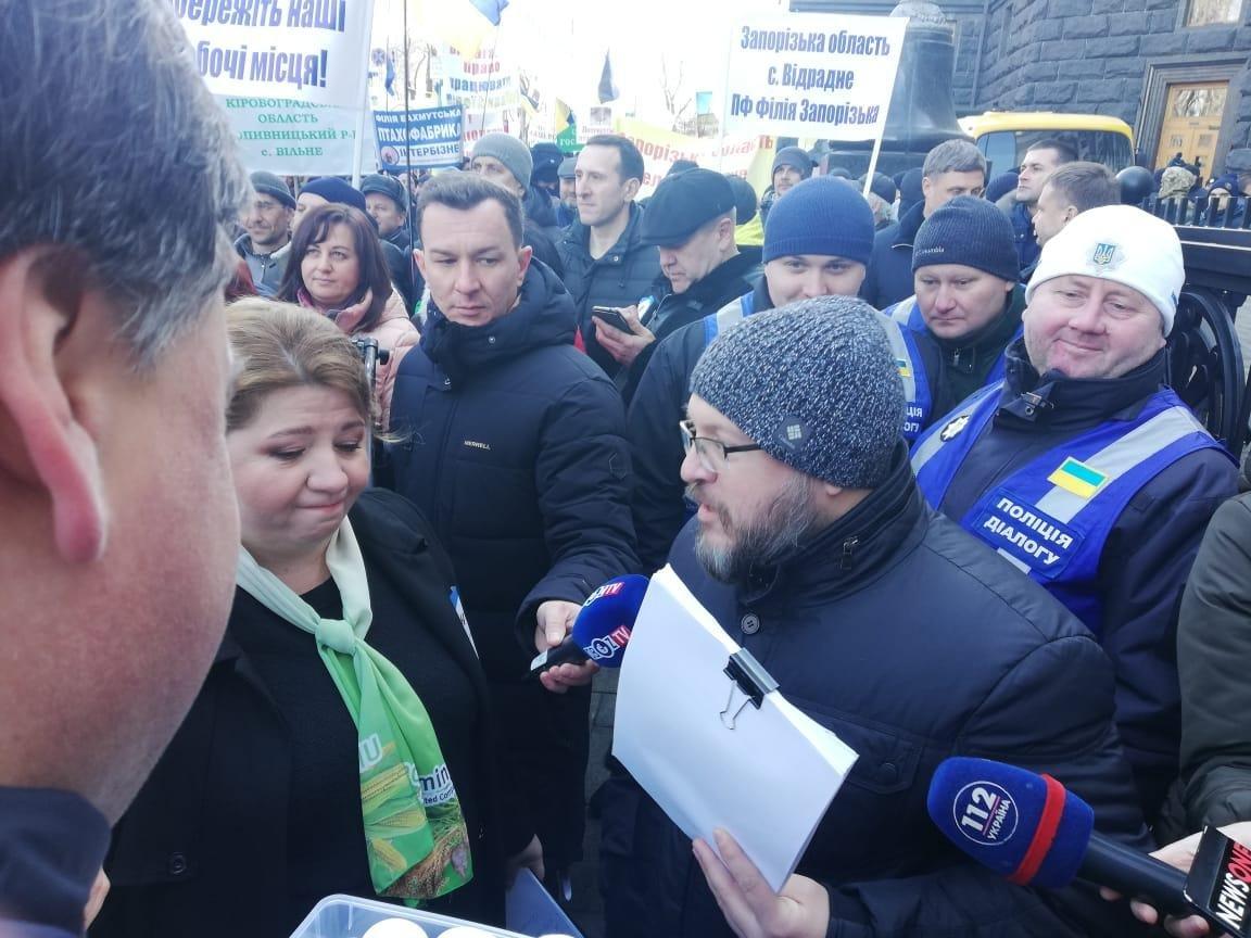 Близько шести тисяч аграріїв вимагають відставки Ситника, звинувачуючи його в тиску на український бізнес, фото-5