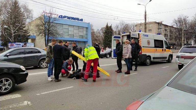 На переході у Сумах збили студентку, фото-1