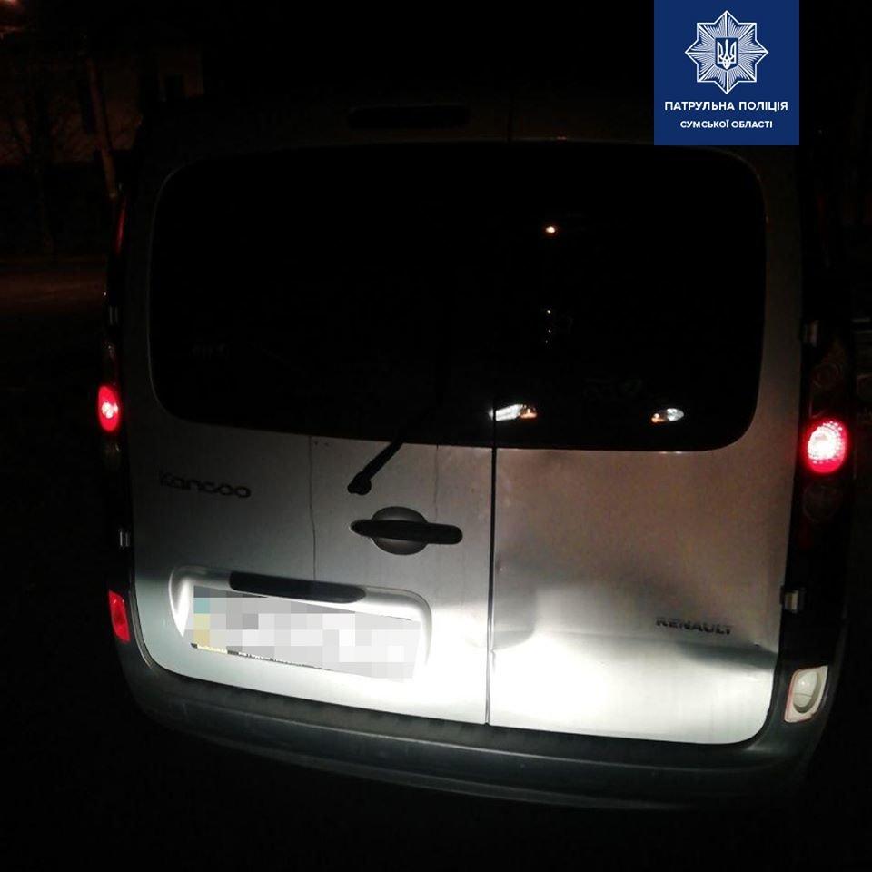 У Сумах затримали водія, який ледве тримався на ногах, фото-1