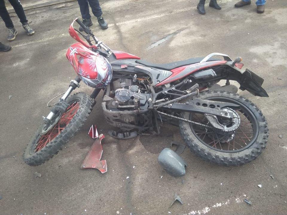 На Сумщині збили 16-річного мотоцикліста, фото-1