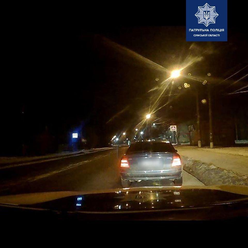 У Сумах упродовж години патрульні виявили двох сп'янілих водіїв , фото-1