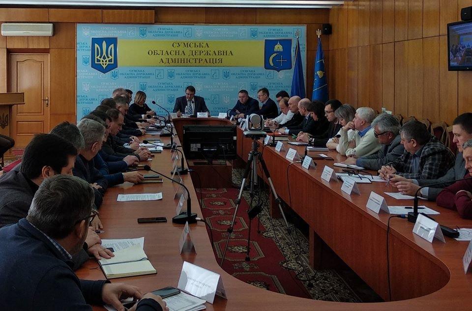 На Сумщині відбулося позачергове засідання комісії з питань техногенно-екологічної безпеки та надзвичайних ситуацій, фото-1