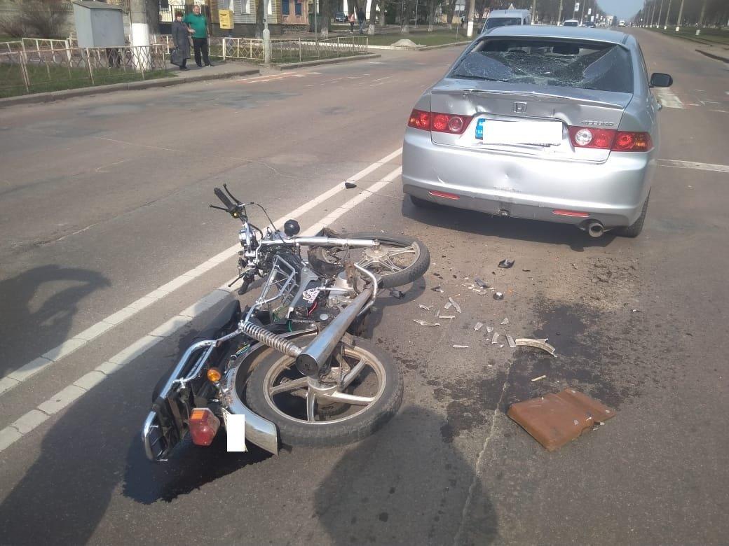 На Сумщині в ДТП постраждали 19-річний мопедист та його 21-річна пасажирка, фото-2