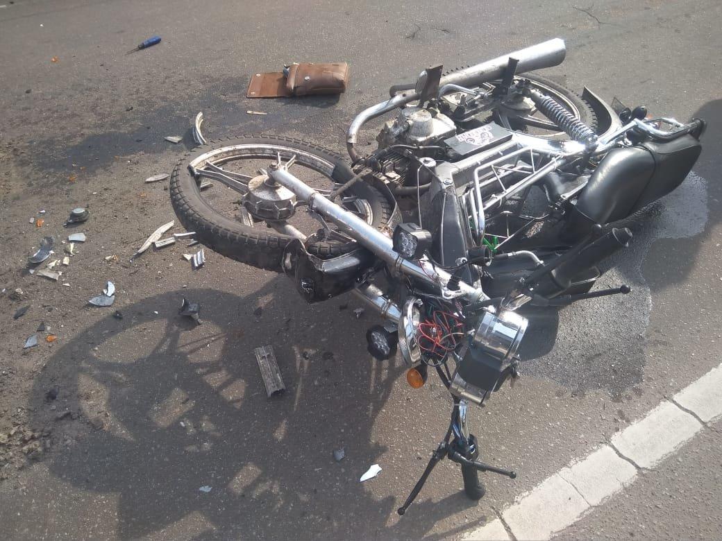 На Сумщині в ДТП постраждали 19-річний мопедист та його 21-річна пасажирка, фото-1