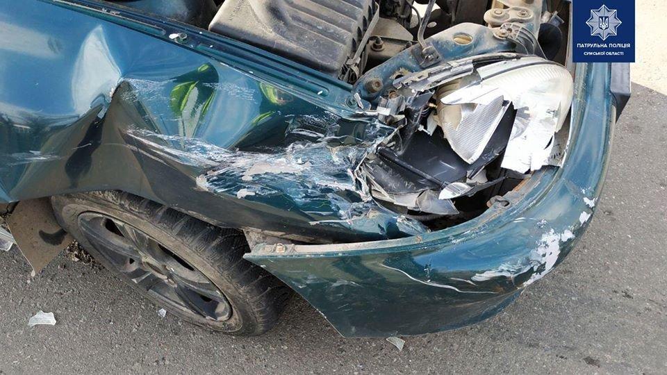 У Сумах у ДТП травмована пасажирка, фото-3