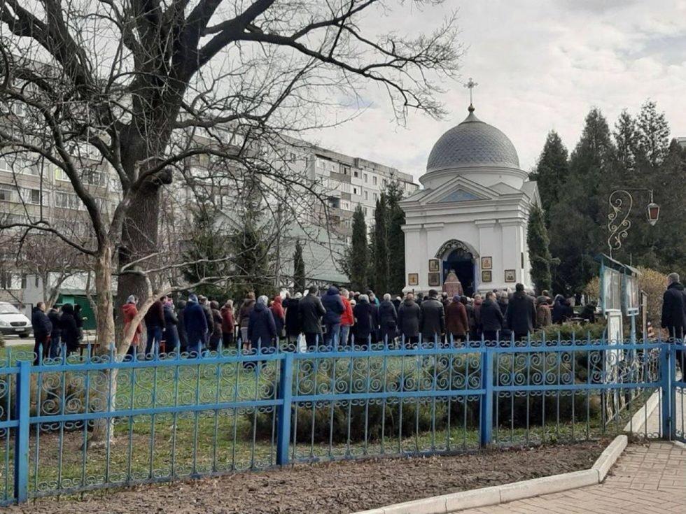 У Сумах за службу під час карантину настоятелів Іллінської церкви попередили, але не оштрафували, фото-1