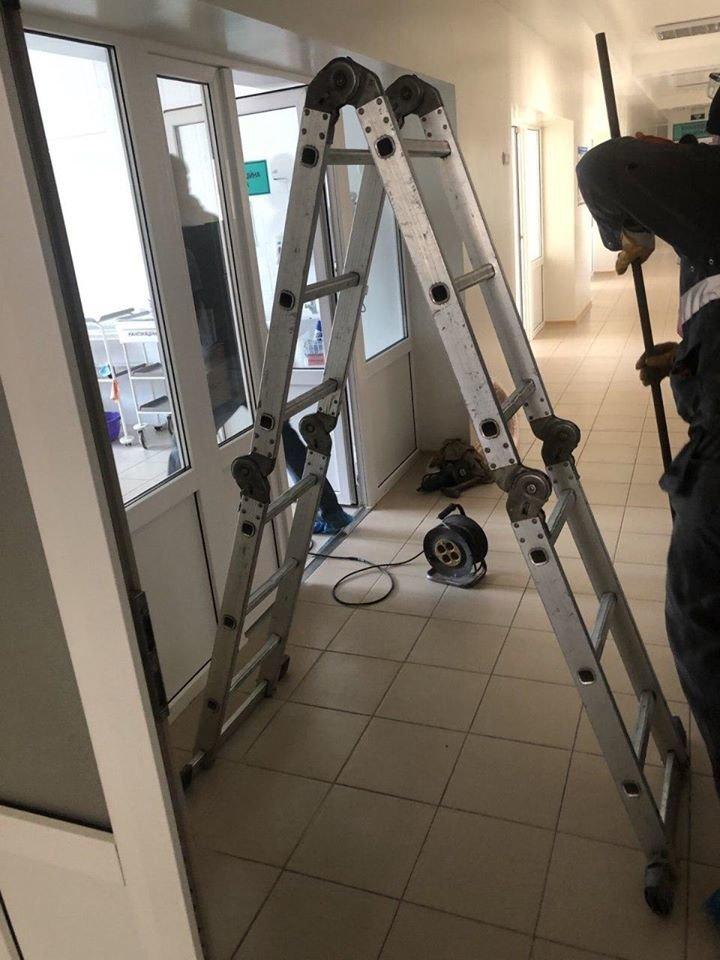 У лікарнях Сум тривають роботи з відновлення і будівництва киснепроводів, фото-2