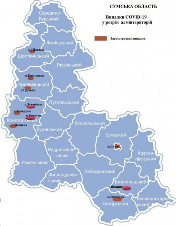 Детальна статистика лабораторного центру щодо поширення коронавірусу на Сумщині, фото-2