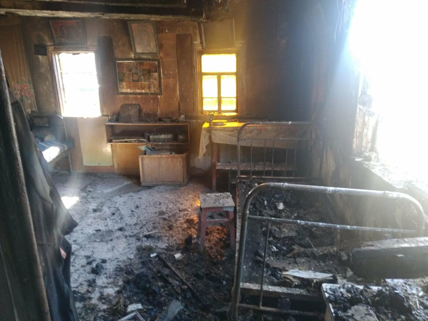 На Сумщині під час пожежі згорів чоловік, фото-2