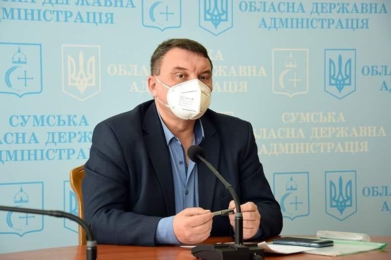 Начальник обласного управління охорони здоров'я звернувся до мешканців Сумщини, фото-1