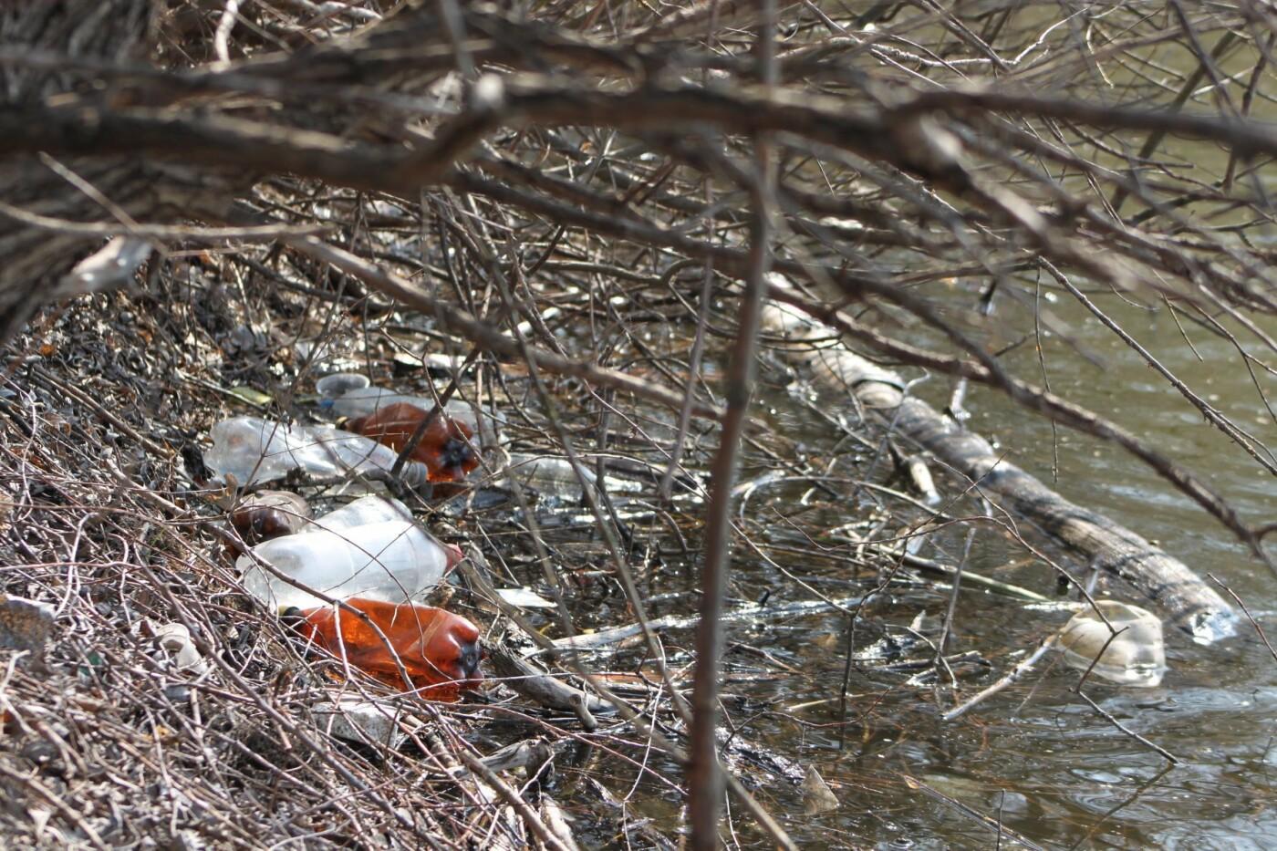 Карантин з користю: тато з донькою прибрали сміття під Сумами, фото-2