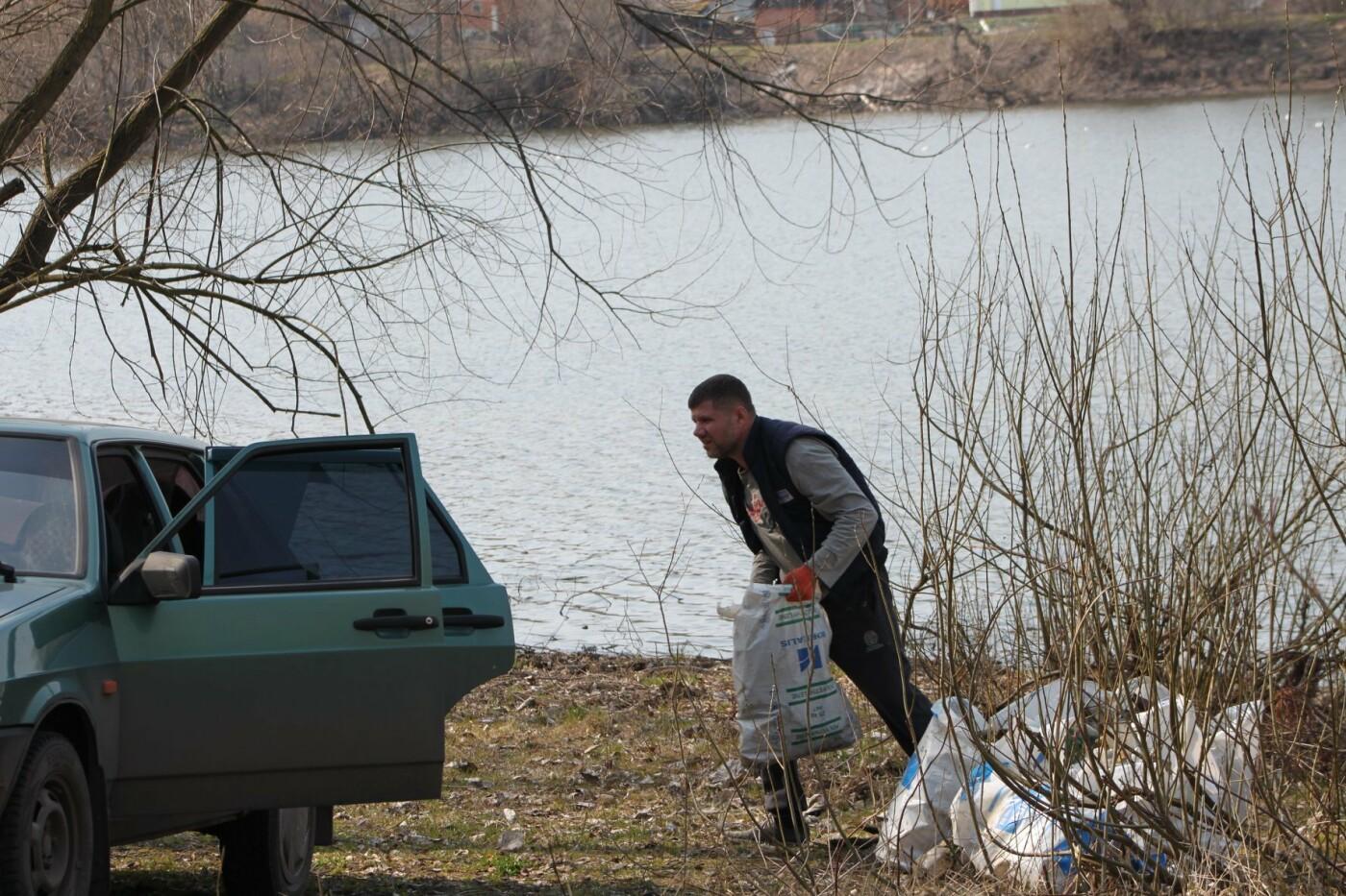Карантин з користю: тато з донькою прибрали сміття під Сумами, фото-5