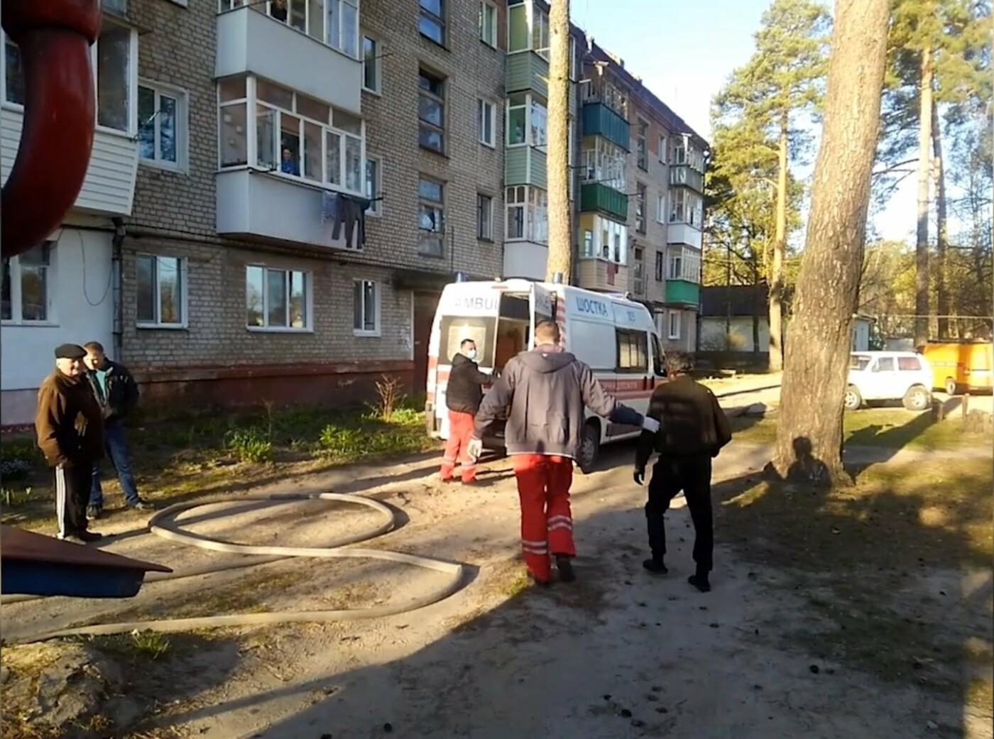 На Сумщині під час пожежі вогнеборці врятували 2 людей, 12 – евакуювали, фото-3
