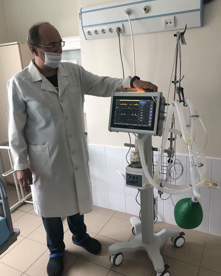 В двох лікарнях Сум за кошти благодійників встановили апарати штучної вентиляції легенів , фото-2