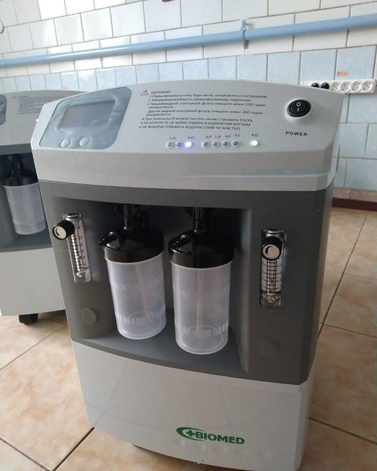 Штаб бізнесу у Сумах поставив до лікарень перші 5 кисневих концентраторів, фото-2