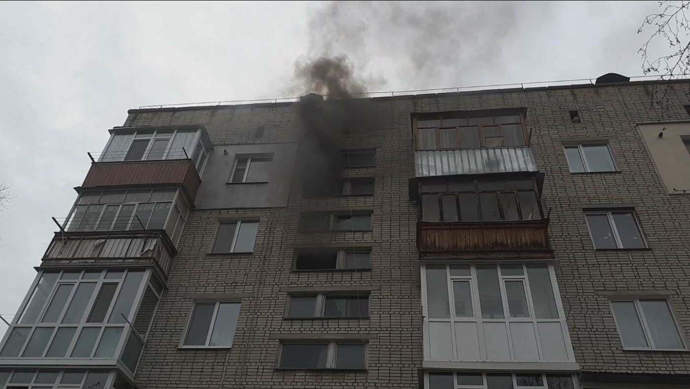 На Сумщині під час пожежі вогнеборці врятували чоловіка , фото-1