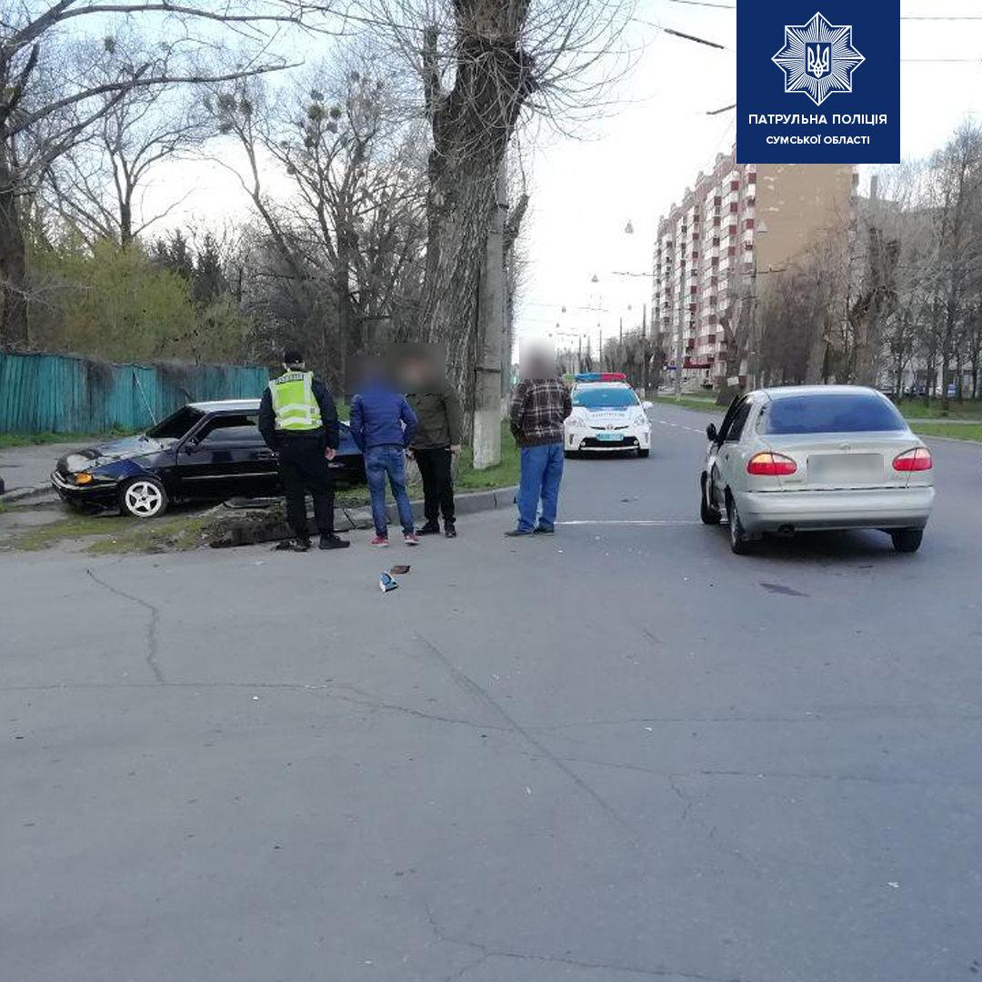 У Сумах на вулиці Герасима Кондратьєва сталася ДТП , фото-2