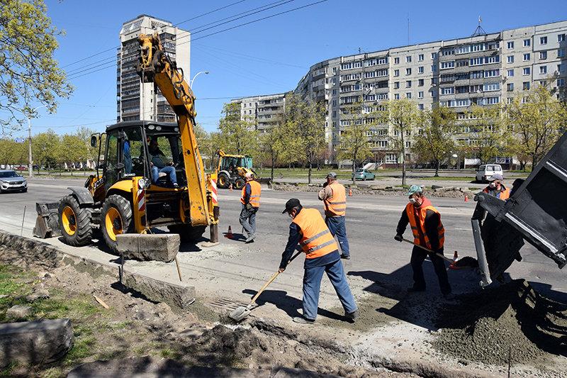 У Сумах ремонтують Харківську , фото-3