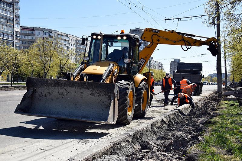 У Сумах ремонтують Харківську , фото-1