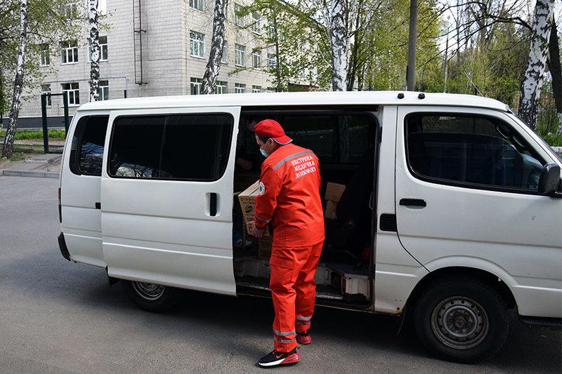 Лікарні Сумщини отримали від міжнародної компанії дезінфікуючі та мийні засоби, фото-1
