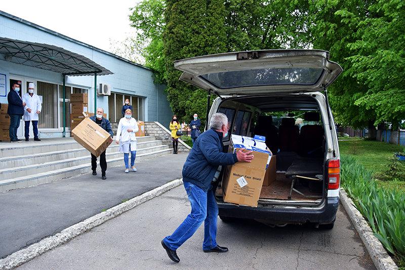 Сумщина отримала чергову партію благодійної допомоги для медичних працівників, фото-4