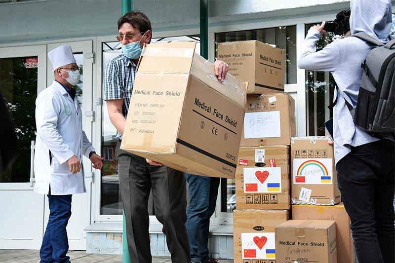 Сумщина отримала чергову партію благодійної допомоги для медичних працівників, фото-2