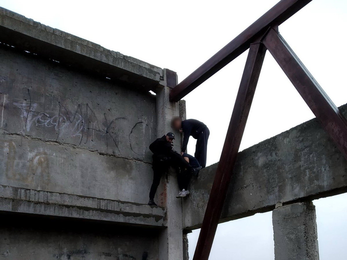 На Сумщині поліцейський умовив студента відмовитися від самогубства, фото-1