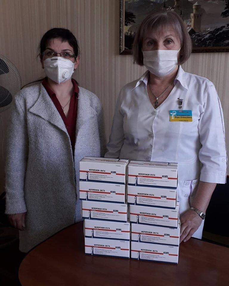 Центральна міська лікарня №1 у Сумах отримала від благодійників антибіотики Меропенем-Віста, фото-1