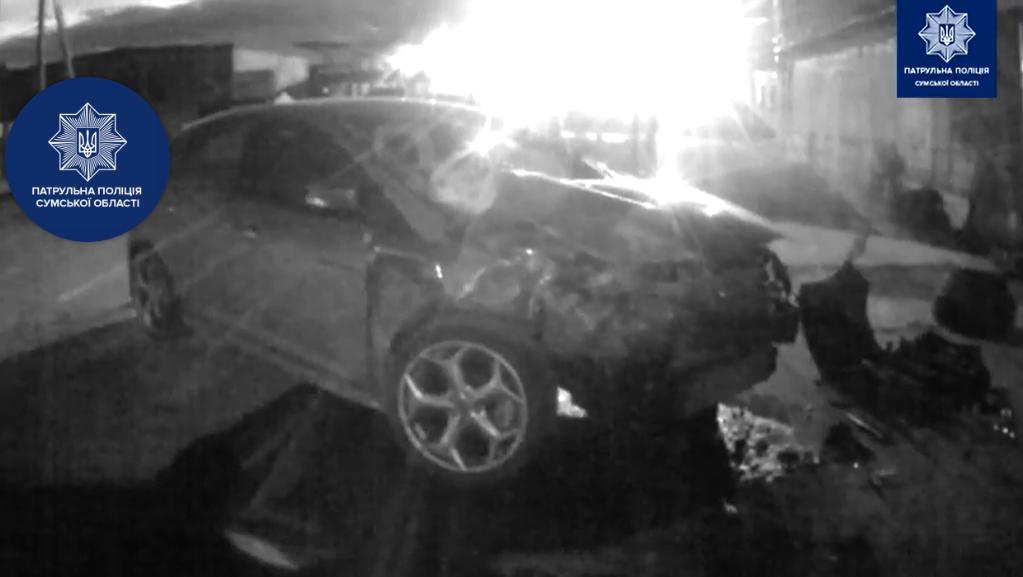 В ДТП в Сумах постраждав водій, фото-1
