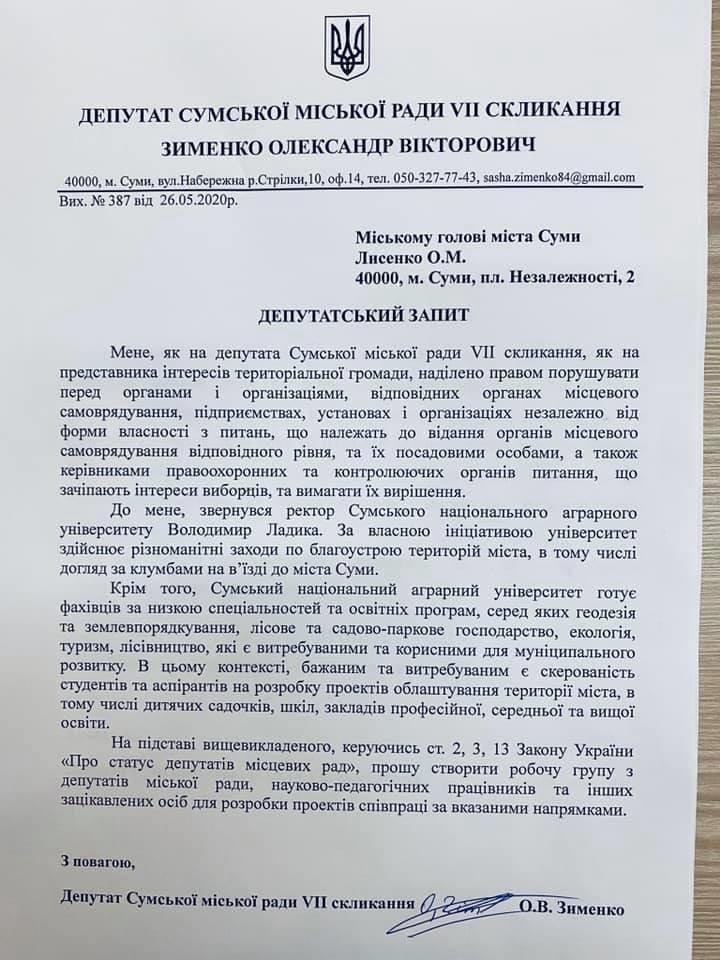Депутати Сум підтримали створення нової робочої групи, фото-1