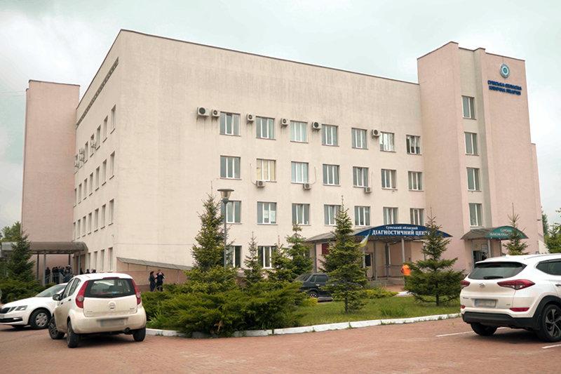 У Сумах відкрили терапевтичний корпус обласної клінічної лікарні, фото-1