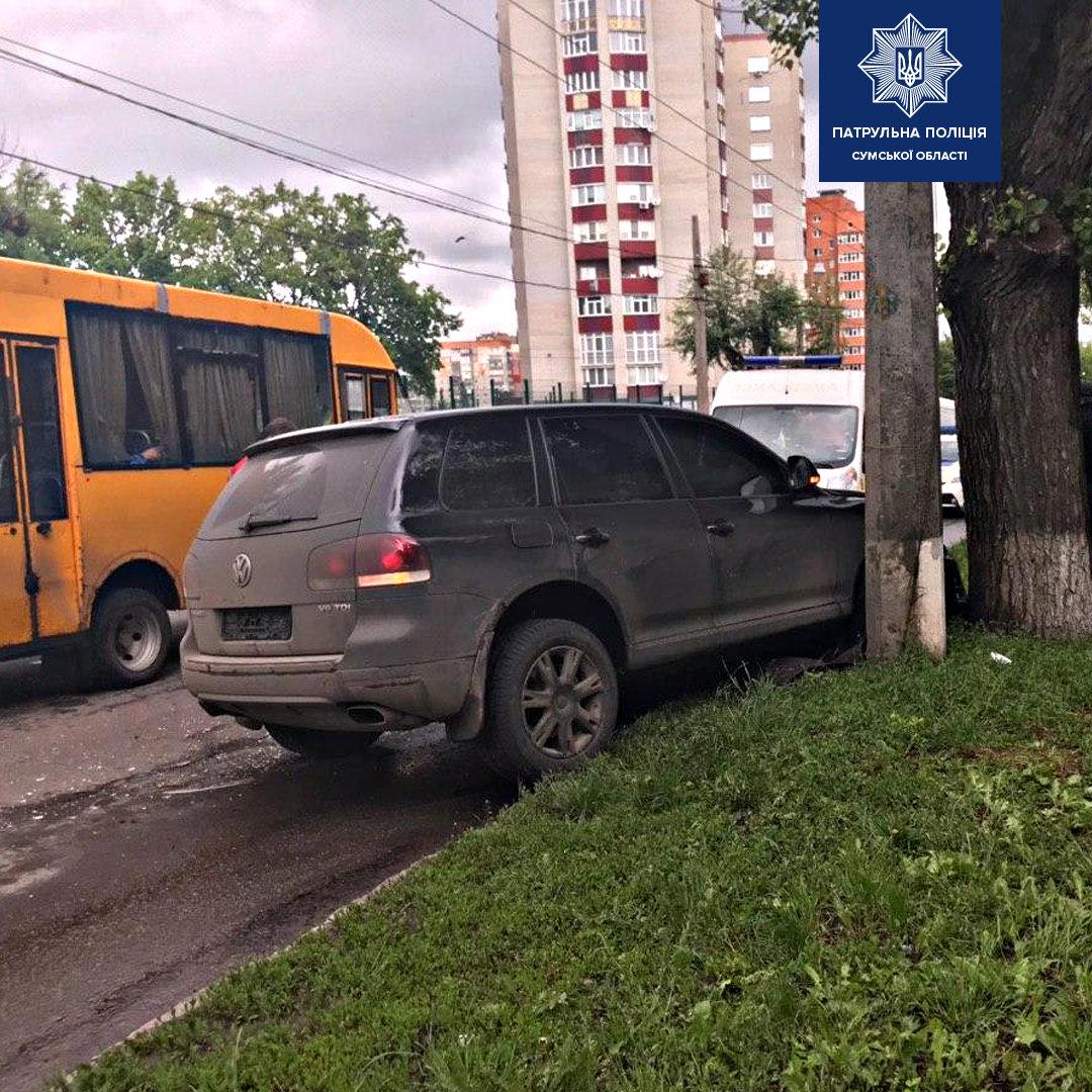 В ДТП в Сумах постраждав водій та пасажир, фото-2
