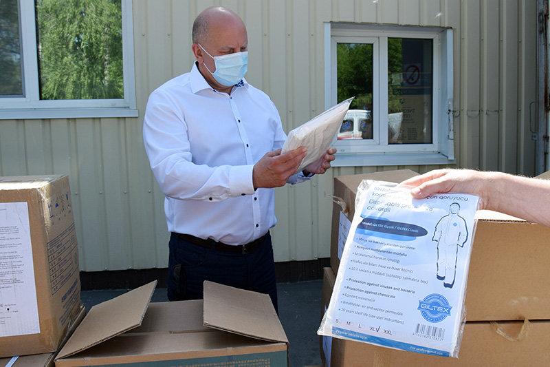 Лікарні Сумщини, де лікують хворих на Covid-19, отримали чергову гуманітарну допомогу, фото-1