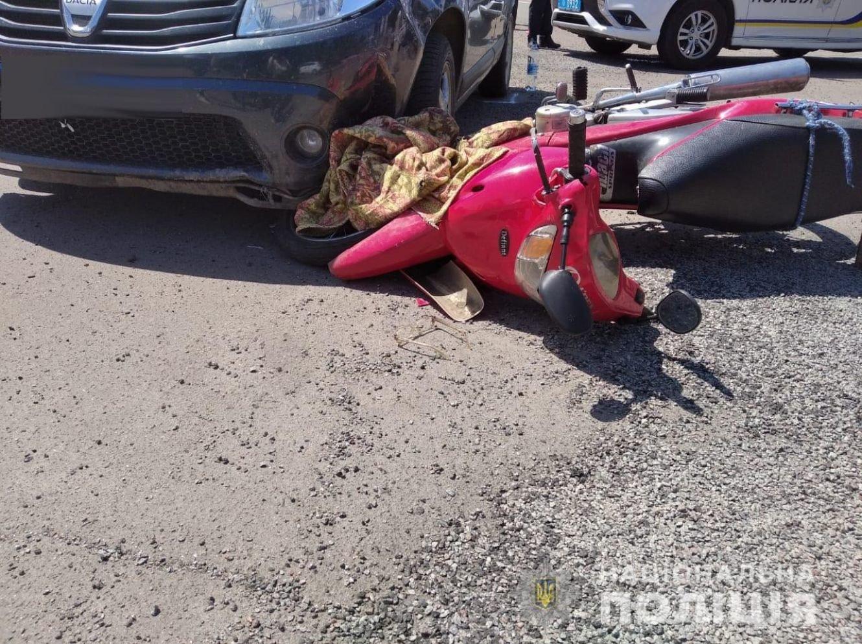 На Сумщині сталася смертельна ДТП: загинув 72-річний мопедист, фото-2