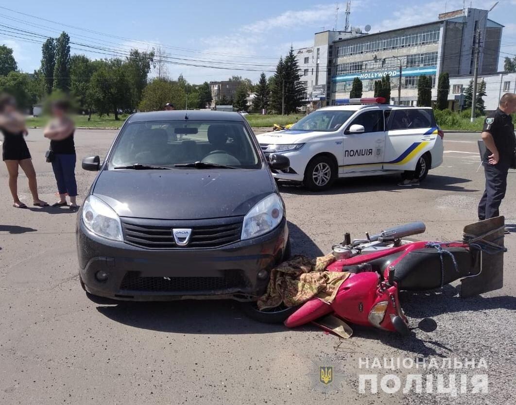 На Сумщині сталася смертельна ДТП: загинув 72-річний мопедист, фото-1