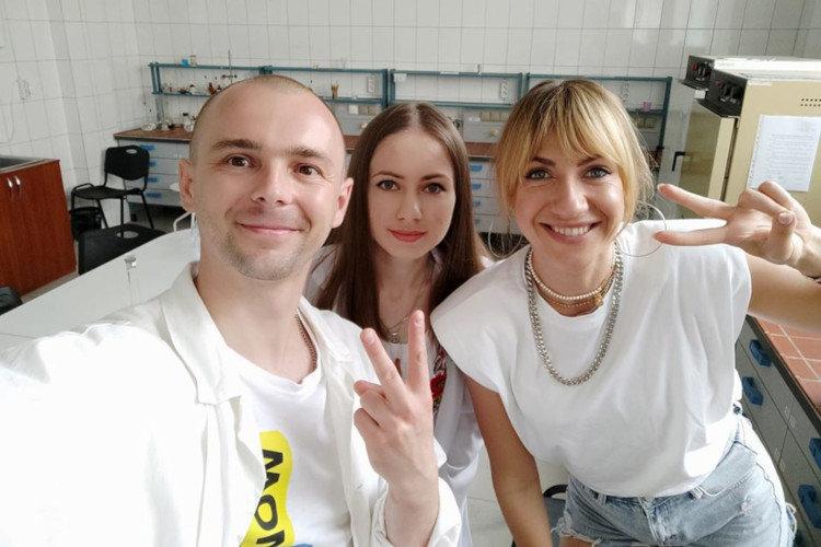Леся Нікітюк завітала в СНАУ, фото-1