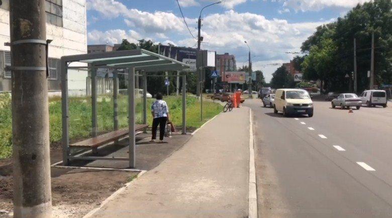 У Сумах на Ремісничій встановили нову зупинку, фото-1