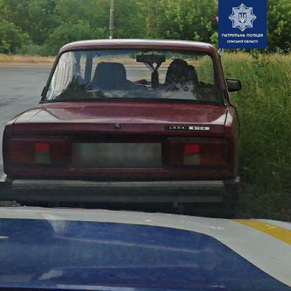 Перевищення в понад 13 разів: у Сумах патрульні виявили дуже п'яного водія, фото-1