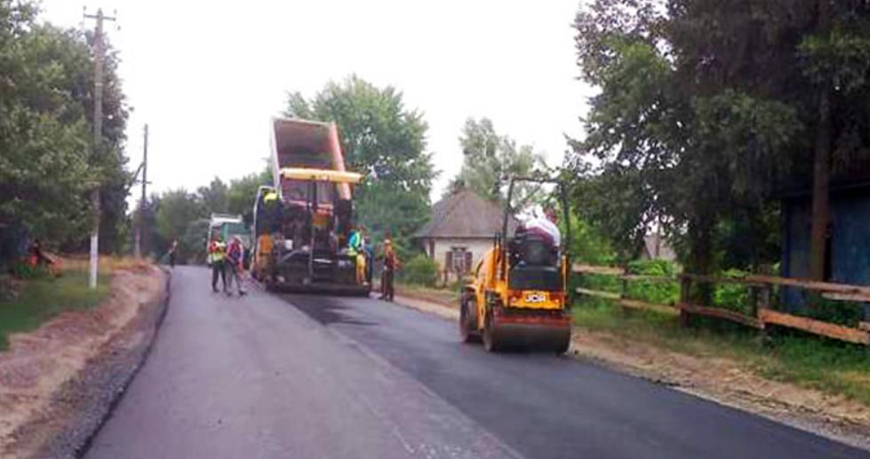На Сумщині ремонтують дорогу з Лебедина на Тростянець, фото-1