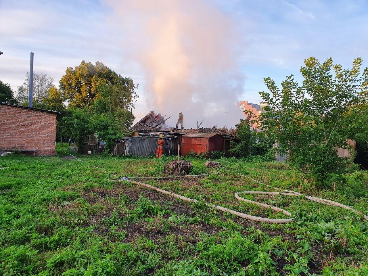 У Сумах гасили пожежу, фото-4