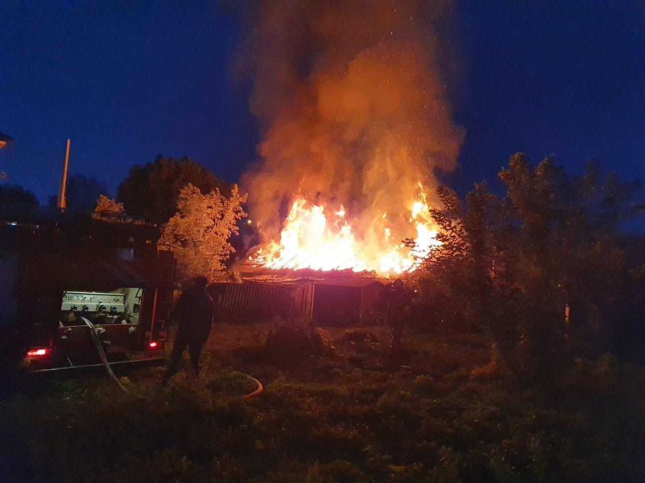 У Сумах гасили пожежу, фото-1