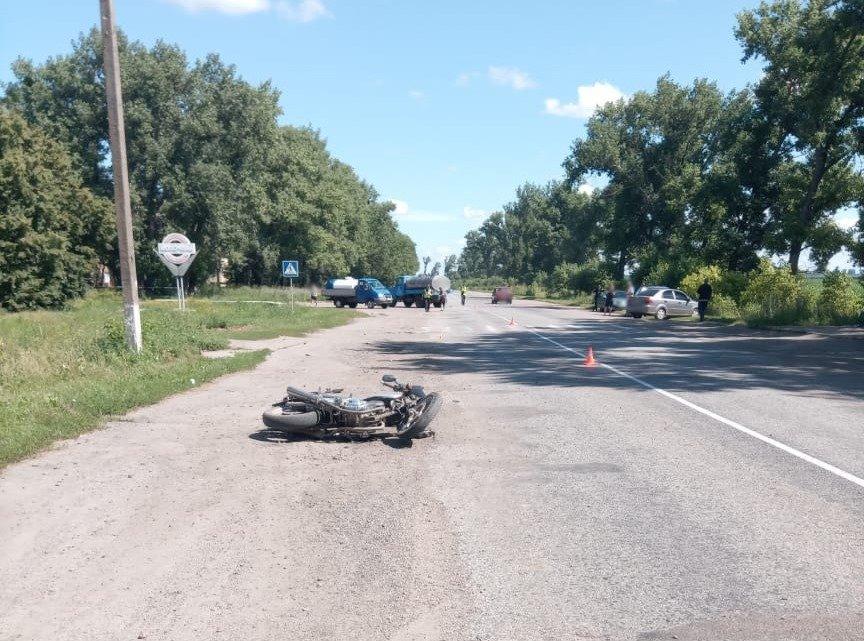 На Сумщині у ДТП постраждав 18-річний мотоцикліст, фото-1
