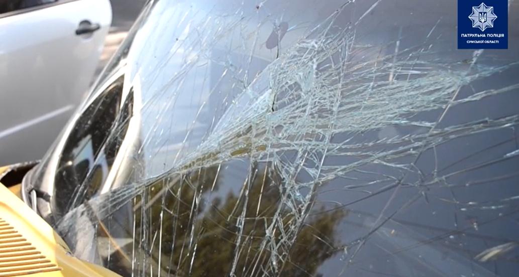 У Сумах зіткнулися два легковики: обидва водії у лікарні, фото-2