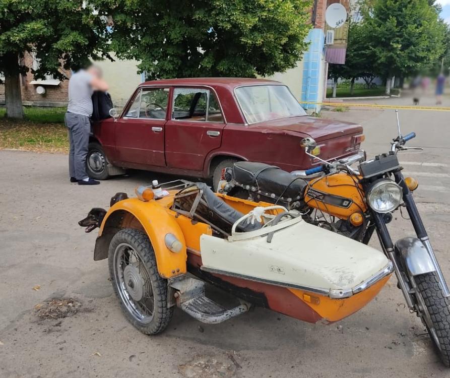 В ДТП на Сумщині постраждав мотоцикліст та його пасажирка, фото-1