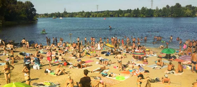 Сумчанам не рекомендують купатися у річці та озерах. У воді наявні фекальні забруднення, фото-1