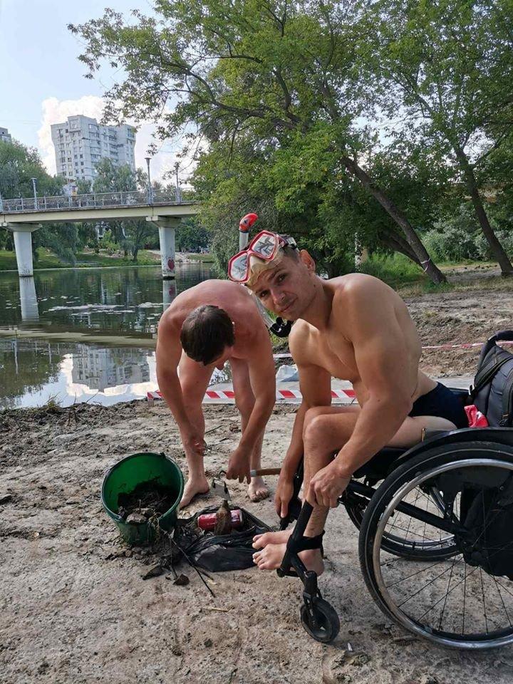 У Сумах для людей з інвалідністю будують річковий пандус, фото-1