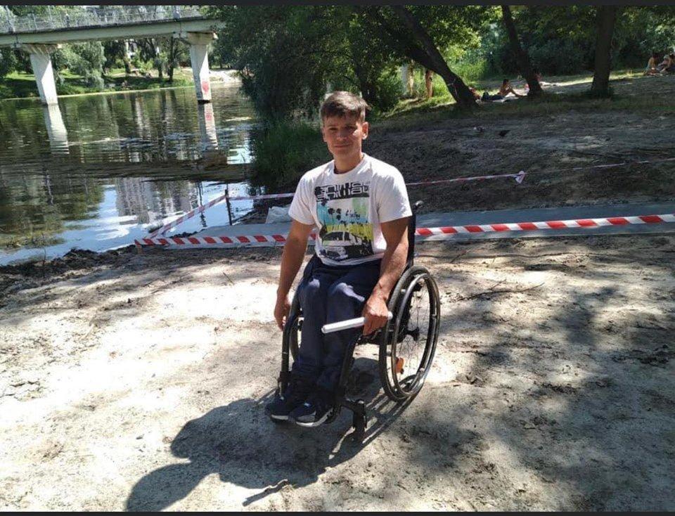 У Сумах для людей з інвалідністю будують річковий пандус, фото-3