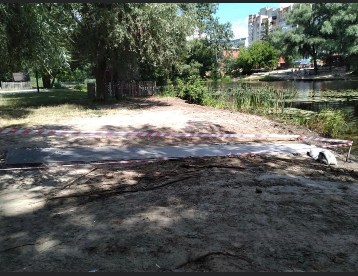 У Сумах для людей з інвалідністю будують річковий пандус, фото-2
