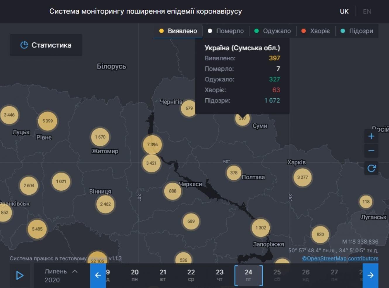 У чотирьох жителів Сумщини підтвердили коронавірус, фото-1